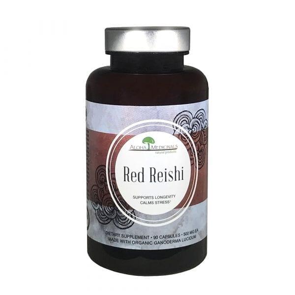 aloha medicinals red reishi